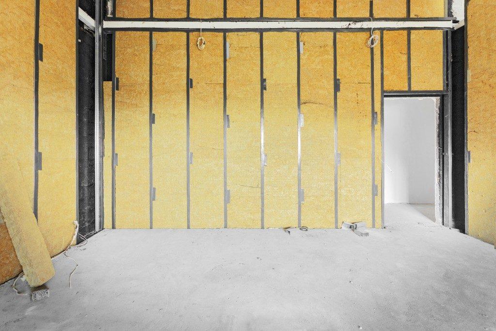 garage renovation with insulation