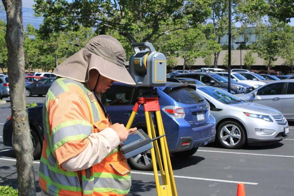 land surveying