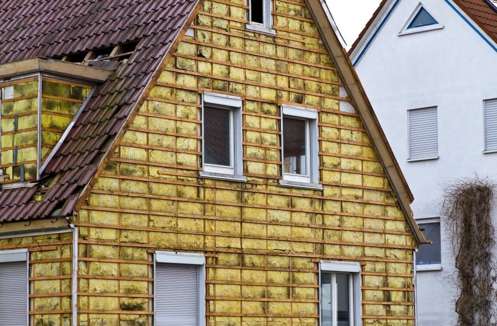 Insulation of a old building