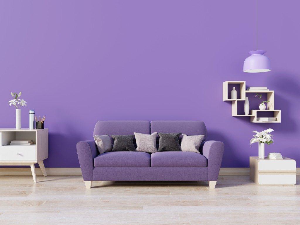 Purple home design