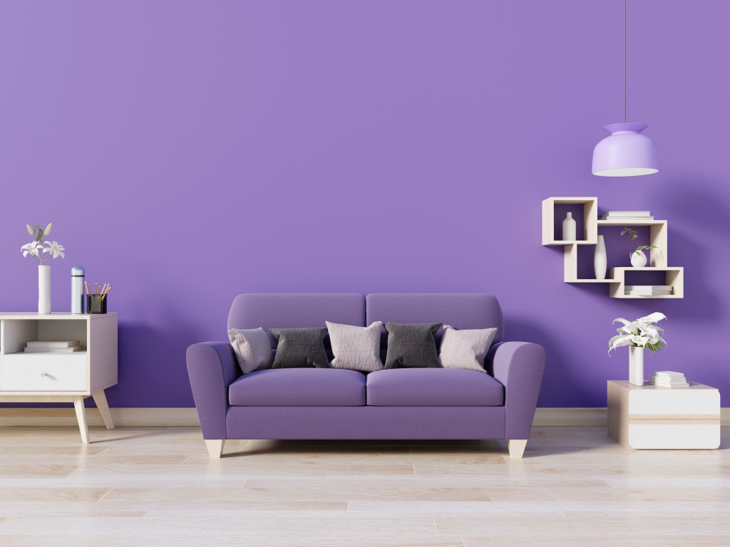Purple home design