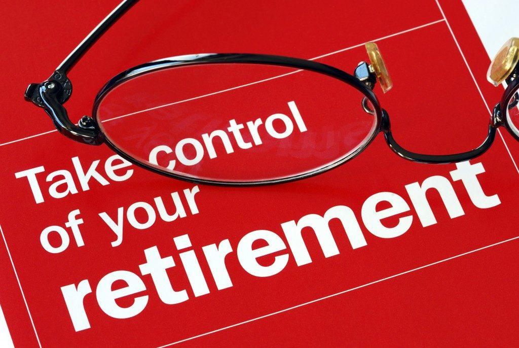 retirement fliers