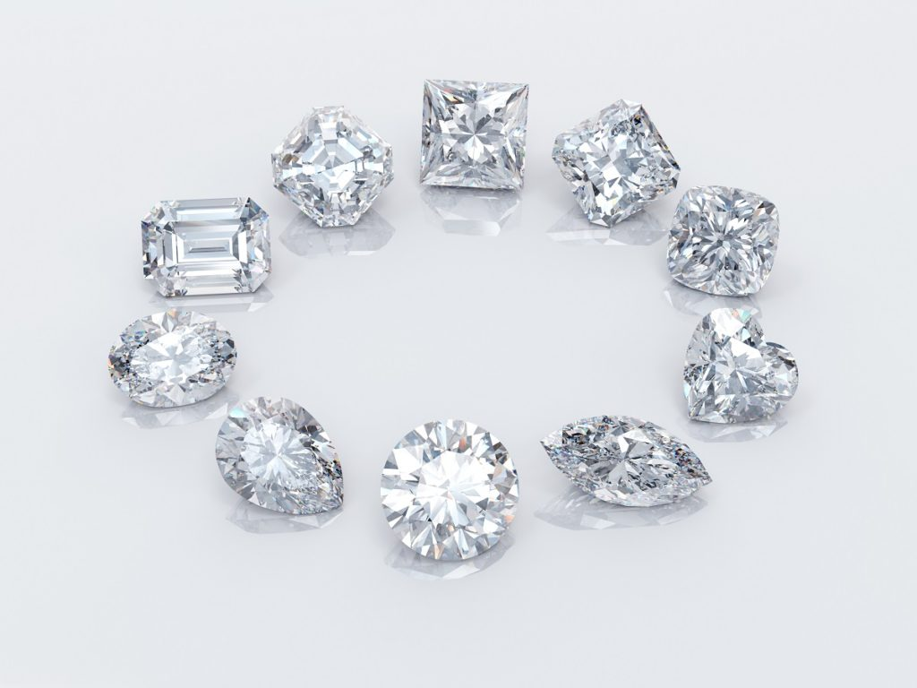 different types of diamonds