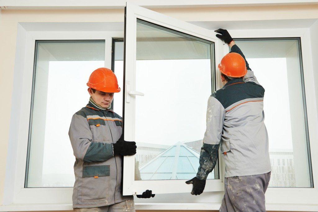 Windows being installed