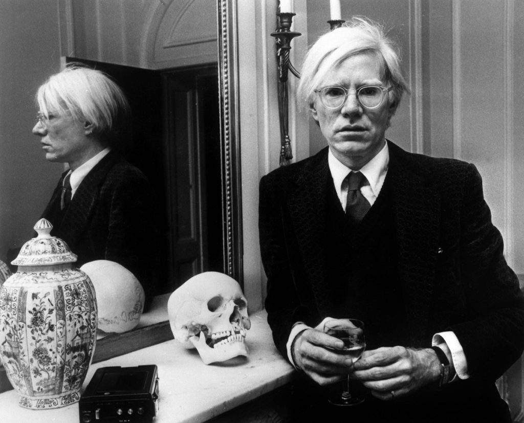 andy warhol, image from architectural digest
