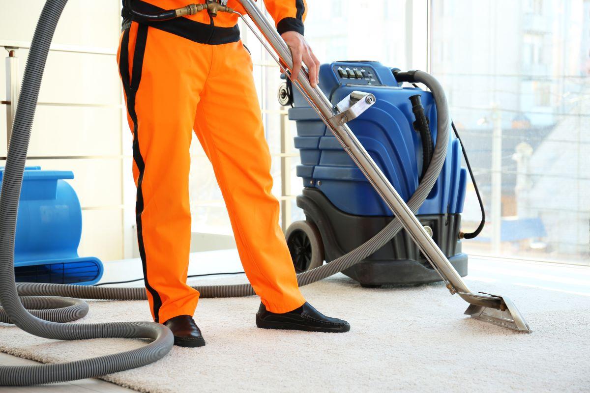 professional cleaning vacuum