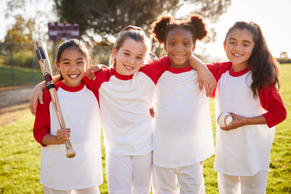 Kids' baseball team