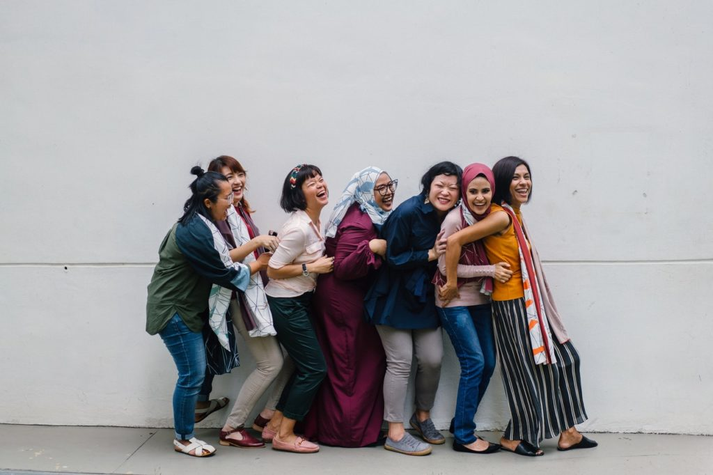 women of different cultures